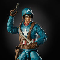 Marvel Legends Ultimate Captain America with Motorcycle Action Figure 7