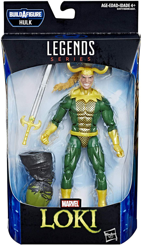 Marvel Legends Endgame Series Loki Hulk BAF Wave Action Figure 1