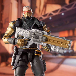Hasbro Overwatch Ultimates Soldier: 76 (Golden Skin) Action Figure Exclusive