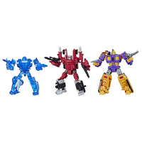 Transformers Generations War For Cybertron: Fan Vote Battle 3 Pack (Mirage, Aragon, Impactor) Action Figures Exclusive WFC-S55, S56, S57