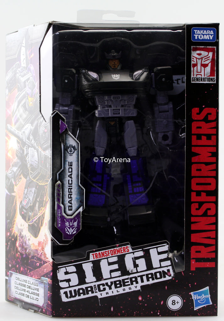 Transformers Generations War For Cybertron: Siege Deluxe Barricade Action Figure WFC-S41