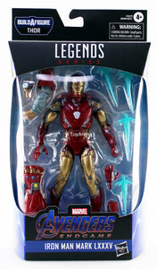 Marvel Legends Avengers Endgame Iron Man Mark LXXXV MK 85 Fat Thor Series Action Figure