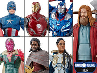 Marvel Legends Avengers Endgame: Wave 3 Thor Baf Action Figures set of 6 15