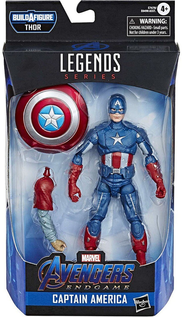 Marvel Legends Avengers Endgame Captain America Fat Thor Series Action Figure
