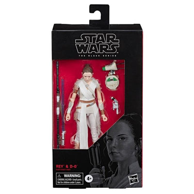 Star Wars Black Series Wave 34 Rey and D-O 6 Inch Action Figure