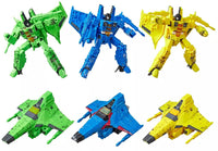 Transformers Generations War For Cybertron: Siege Voyager Rainmaker Trio Set of 3 (Acid Storm, Ion Storm, Nova Storm) WFC-S52,S53,S54)