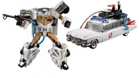 Hasbro Transformers Ghostbusters Crossover Ectrotron Ecto-1 Action Figure Gamestop Exclusive