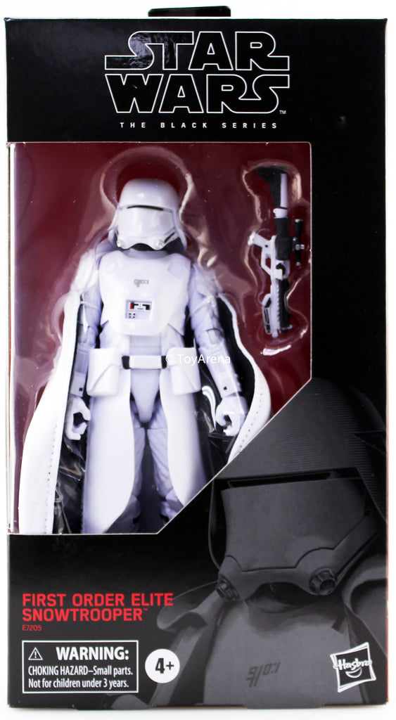 Star Wars Black Series First Order Elite Snowtrooper 6 Inch Action Figure  Exclusive