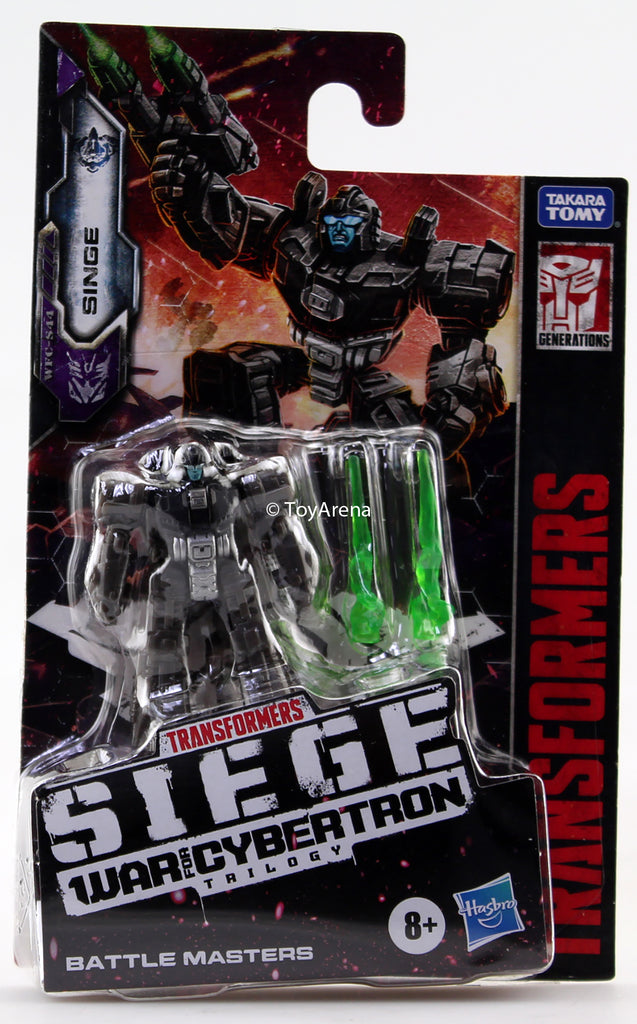 Transformers Generations War For Cybertron: Siege Battle Master Singe Action Figure WFC-S44