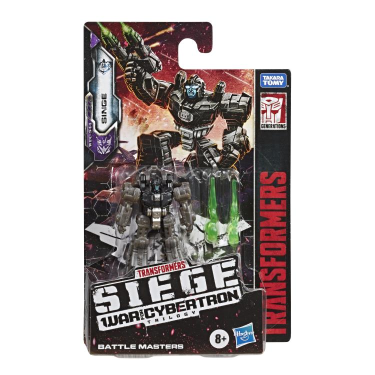Transformers Generations War For Cybertron: Siege Battlemaster Singe Action Figure WFC-S44