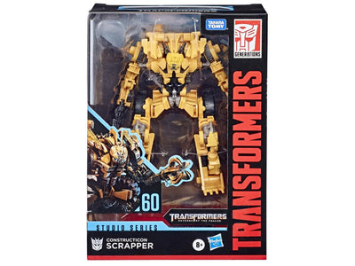 Transformers Generations Studio Series #60 Decepticon Scrapper Action Figure