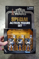Star Wars Vintage Collection 501st Legion Arc Troopers 3 Pack SDCC Exclusive