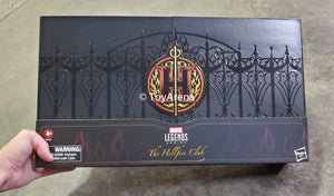 "Marvel Legends Series 6"" Hellfire Club Collection SDCC Exclusive"