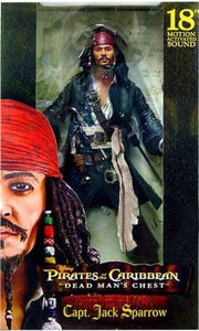 "NECA IT 18"" Pirates of the Caribbean 1/4 Scale Captain Jack Sparrow Action Figure 1"