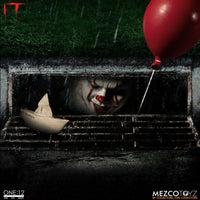 Mezco Toys One:12 Collective: IT: Pennywise Action Figure 12