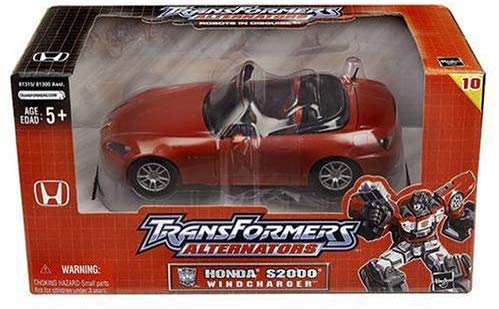 Transformers Alternators Windcharger Honda S2000 Action Figure 1