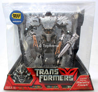 Transformers Movie Voyager Megatron Metallic Best Buy Exclusive Action Figure SHELF WEAR