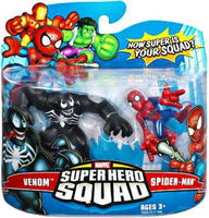 Marvel Superhero Squad Series 7 Venom and Spiderman Action Figure 2 pack 1