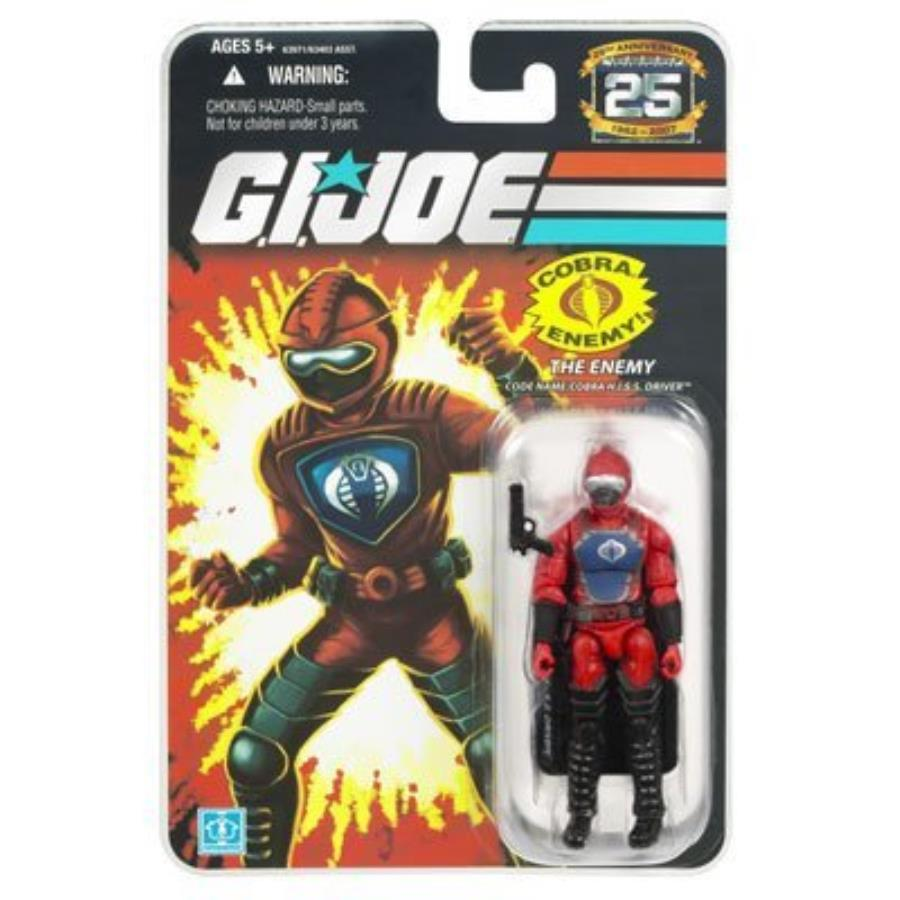 G.I. Joe 25th Anniversary The Enemy Cobra H.I.S.S. Driver Action Figure 1