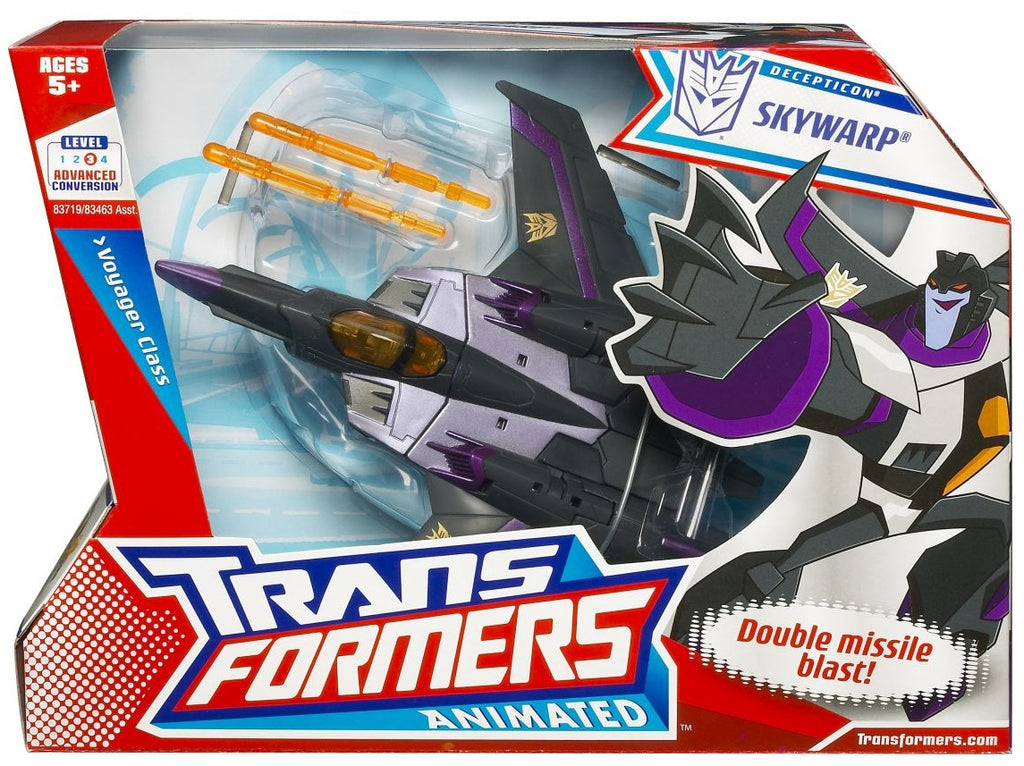Transformers Animated Voyager Class Skywarp