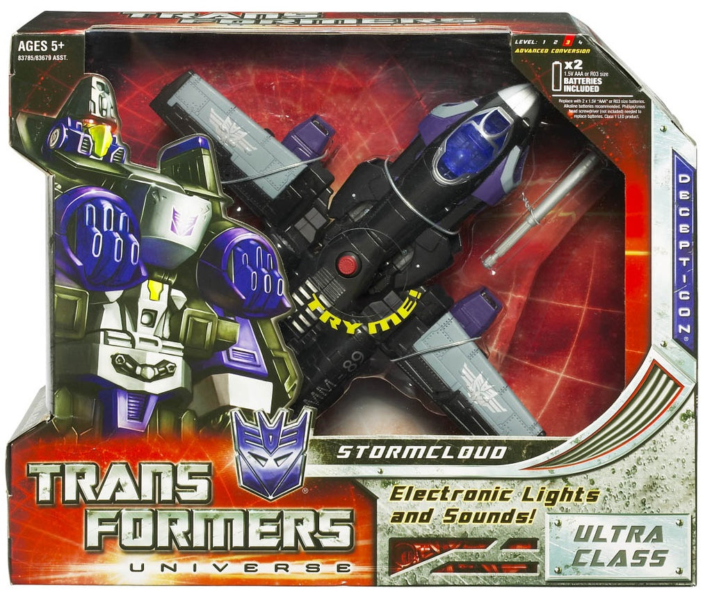 Transformers Universe Ultra Class Stormcloud Classic Series