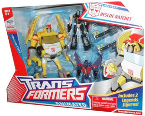 Transformers Animated Deluxe Rescue Ratchet Set