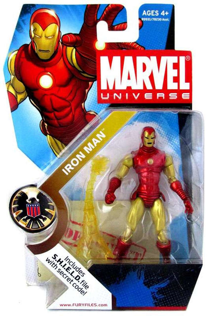 Marvel Universe Series Iron Man (Classic) 3.75 inch Action Figure 1