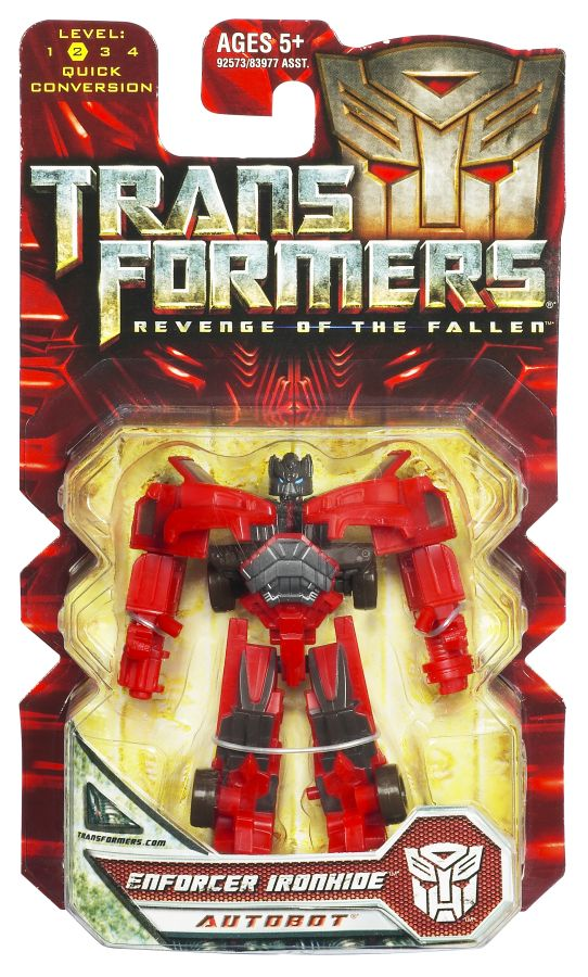 Transformers ROTF Legends Enforcer Ironhide