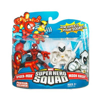 Marvel Superhero Squad Moon Knight and Spiderman Action Figure 2 pack