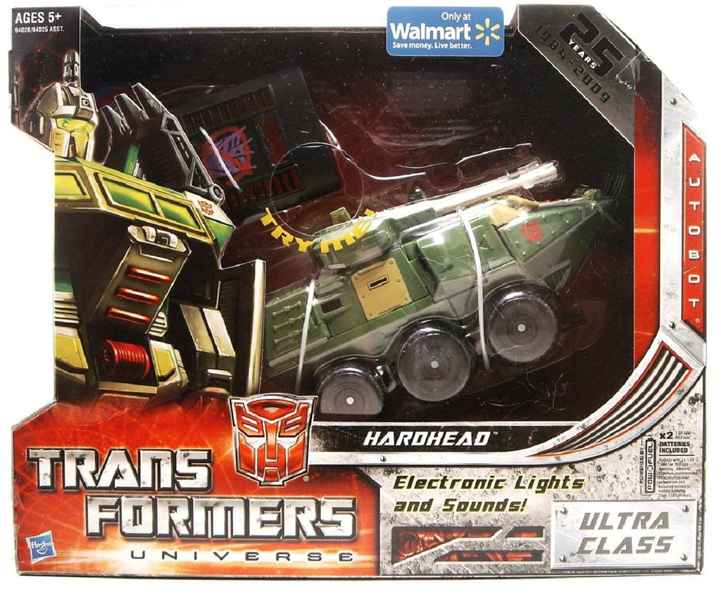 Transformers Universe Classic Ultra Class Hardhead 25th Anniversary Exclusive