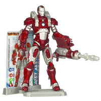 Iron Man 2 Inferno Mission Armor Movie Series Action Figure 2