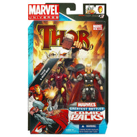 Marvel Universe Comics Greatest Battles Thor Vs Iron Man 3.75 inch Comic Book 2 Pack 1