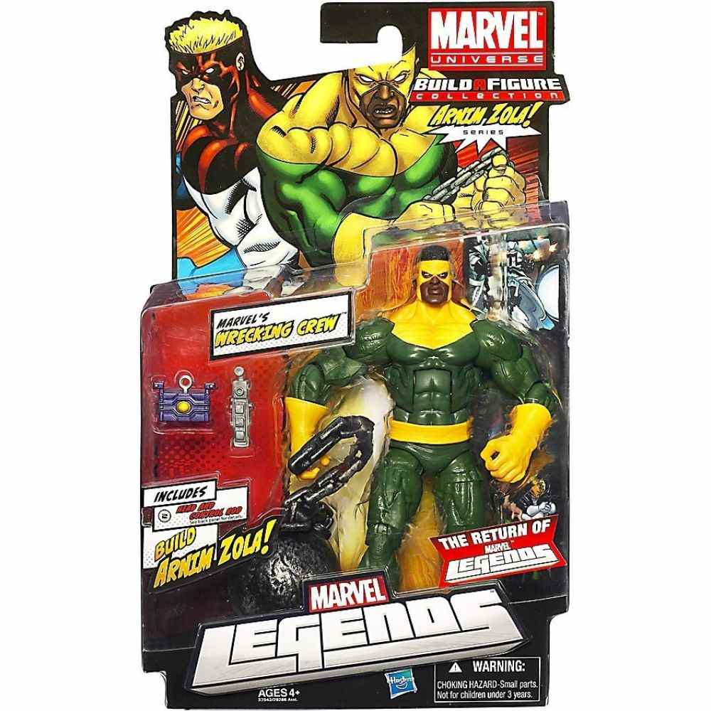 Marvel Universe Legends Wrecking Crew Armin Zola Series Action Figure