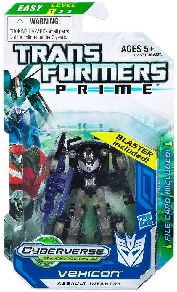 Transformers Prime RID Legion Class Vehicon Assault Infantry Cyberverse