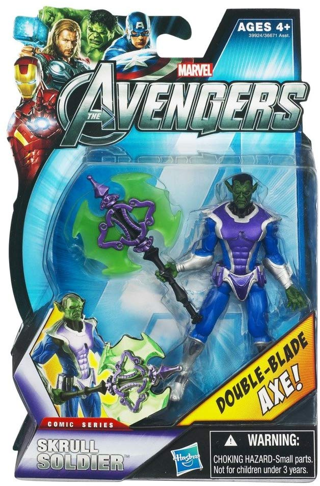 Marvel Avengers The Movie Series Skrull Soldier 3.75 inch Action Figure 1