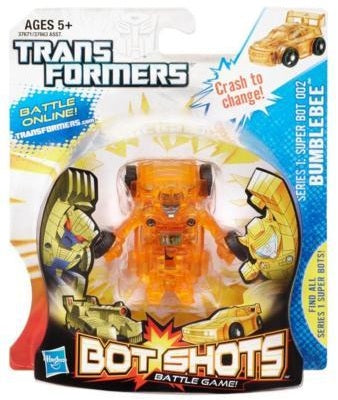 Transformers Bot Shots Series 1 Bumblebee Super Bot 002