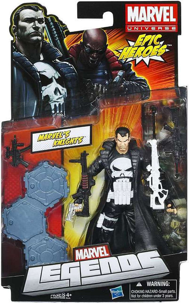 Marvel Legends Punisher White Skull Variant 6 inch Action Figure 1
