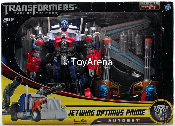 Transformers DOTM Supreme Class Jetwing Optimus Prime Action Figure SHELF WEAR