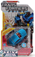 Transformers Prime RID Deluxe Class Rumble w/ DVD Included Action Figure