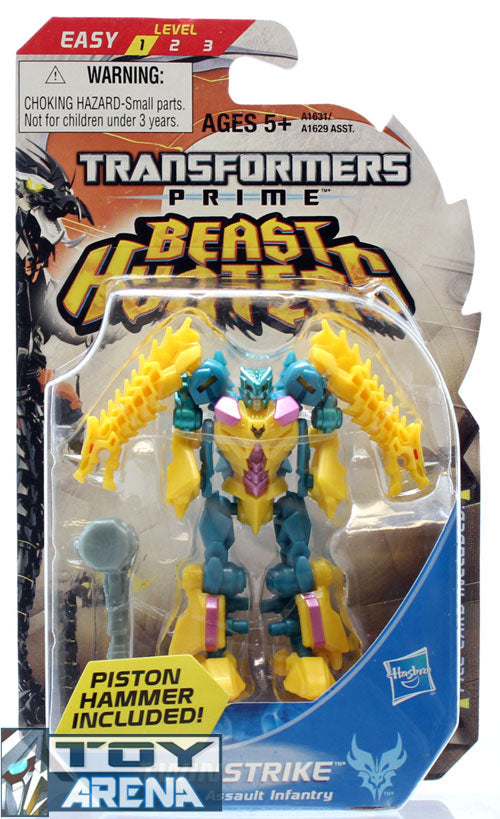 Transformers Prime Beast Hunters #002 Twinstrike Predacon Legion Class Series 3