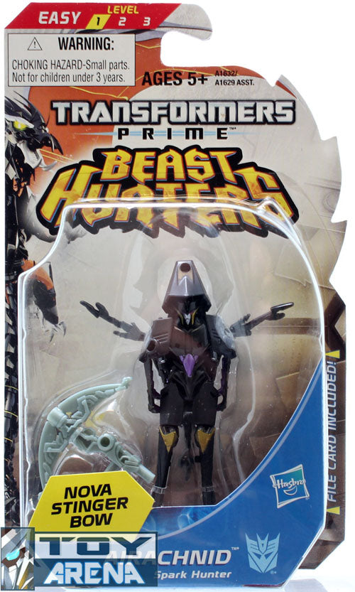 Transformers Prime Beast Hunters #003 Airachnid Decepticon Legion Class Series 3