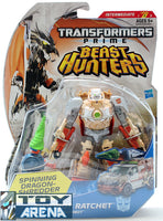 Transformers Prime Beast Hunters #010 Ratchet Autobot Deluxe Class Series 2