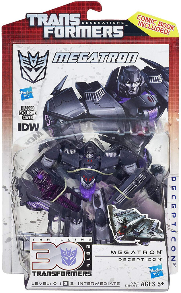 Transformers Generations Thrilling 30 Deluxe Class Megatron Action Figure 1