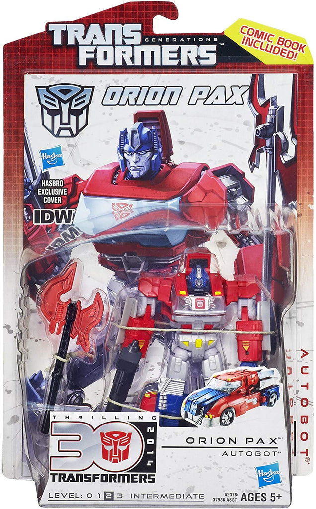 Transformers Generations Thrilling 30 Deluxe Class Orion Pax Action Figure 1