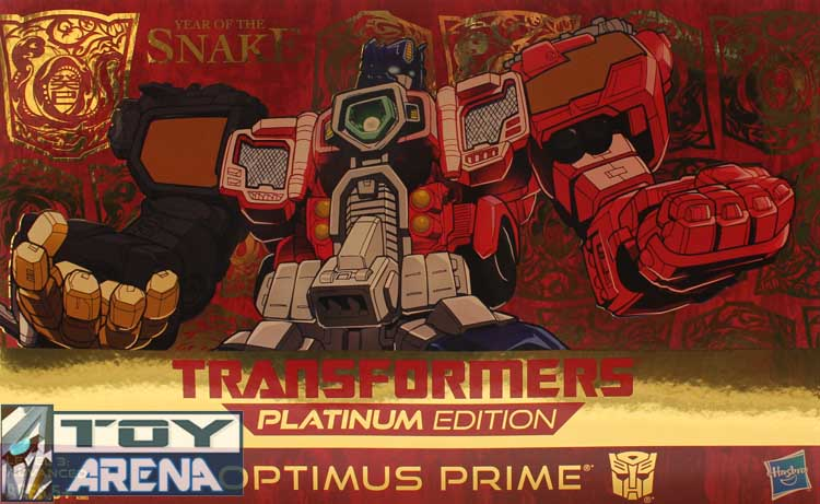 Transformers Platinum Edition Year of the Snake Optimus Prime 2013