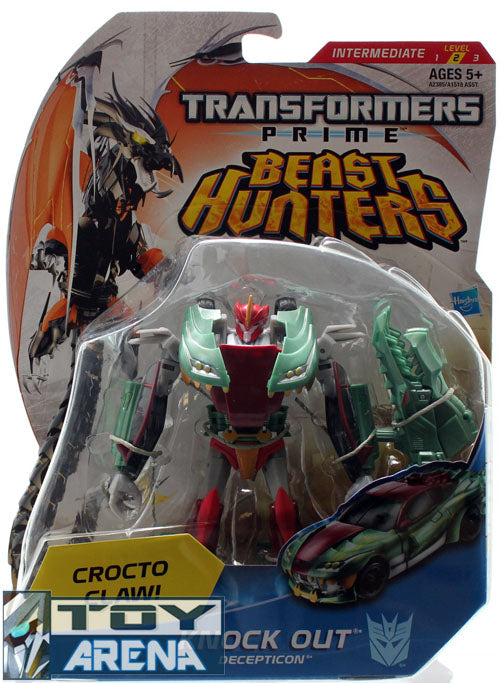 Transformers Prime Beast Hunters #013 Knock Out Deluxe Class Decepticon Series 2