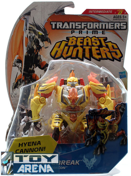 Transformers Prime Beast Hunters #014 VerteBreak Predacon Deluxe Class Series 2