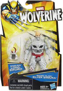 Marvel Wolverine Sword Slash Silver Samurai 3.75 inch Action Figure 1