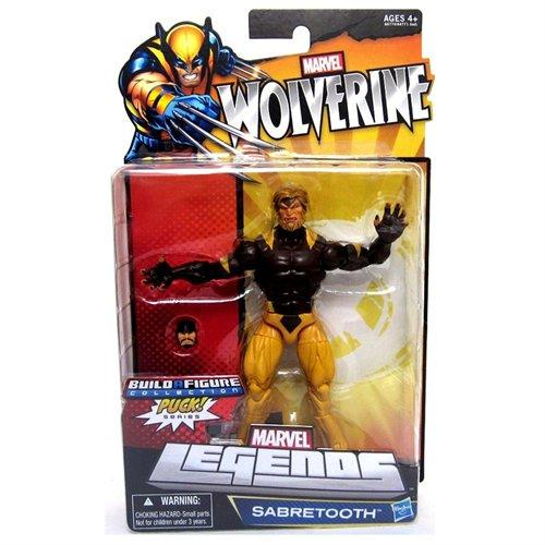 Marvel Legends Wolverine: Sabertooth 6 inch (Puck BAF) Action Figure 1