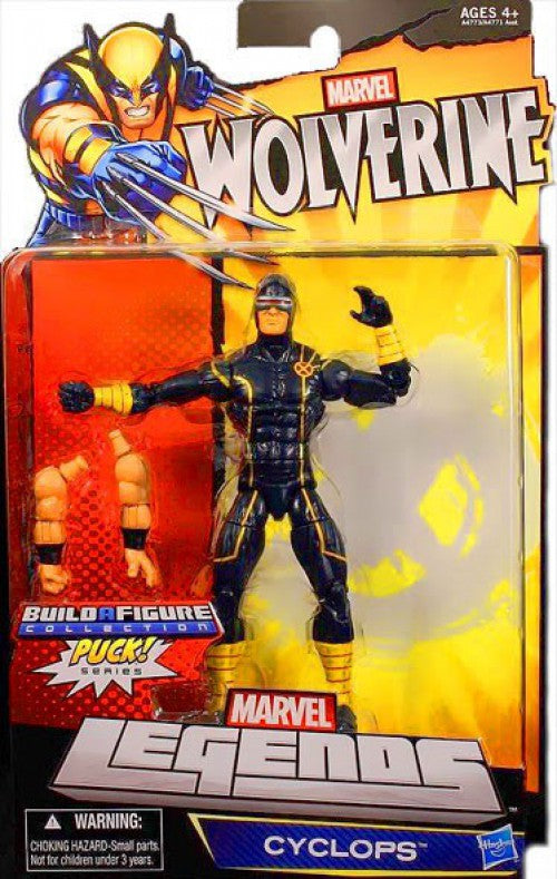 Marvel Legends Wolverine: Cyclops 6 inch (Puck BAF) Action Figure 1